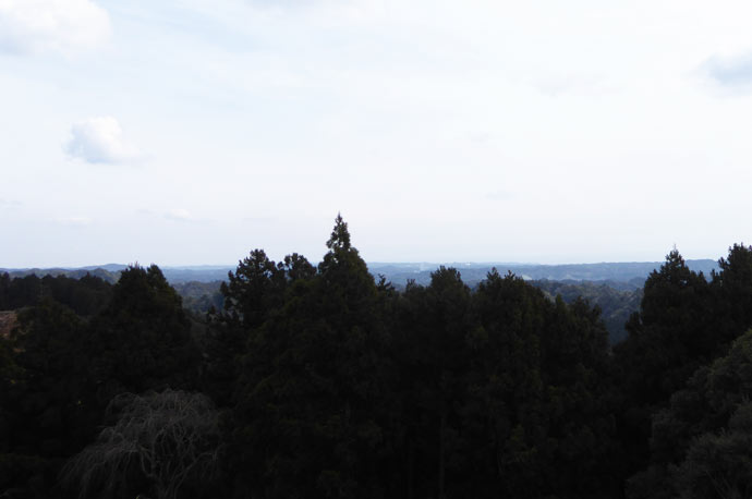 旭が森からの眺望