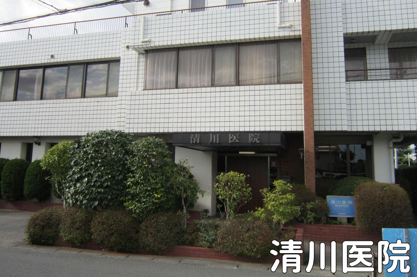 清川医院の玄関
