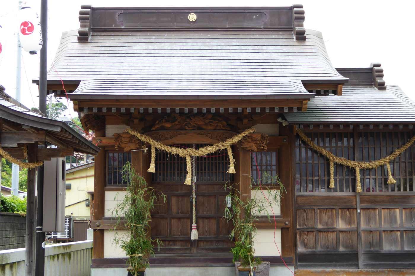千倉神社の本殿の写真