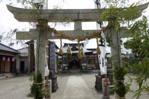 熊野神社の拝殿