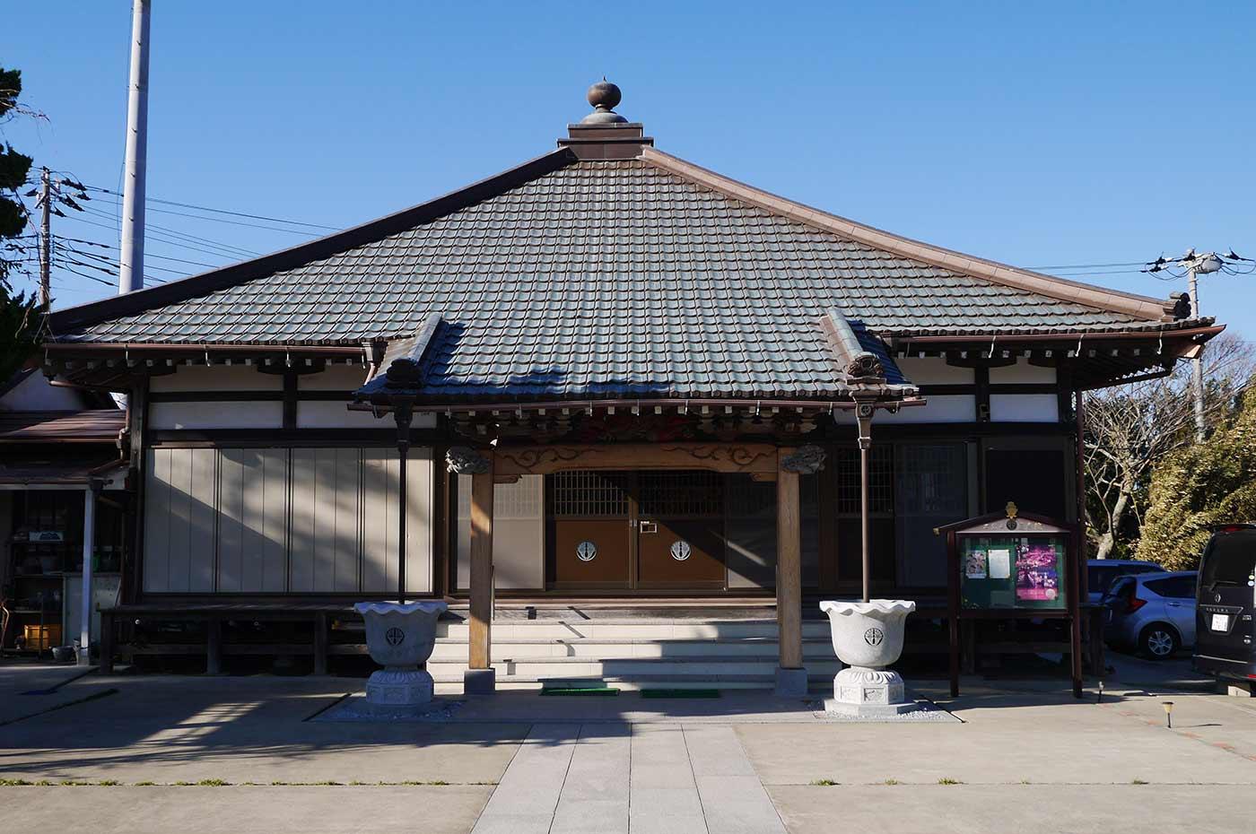 蓮寿院の外観