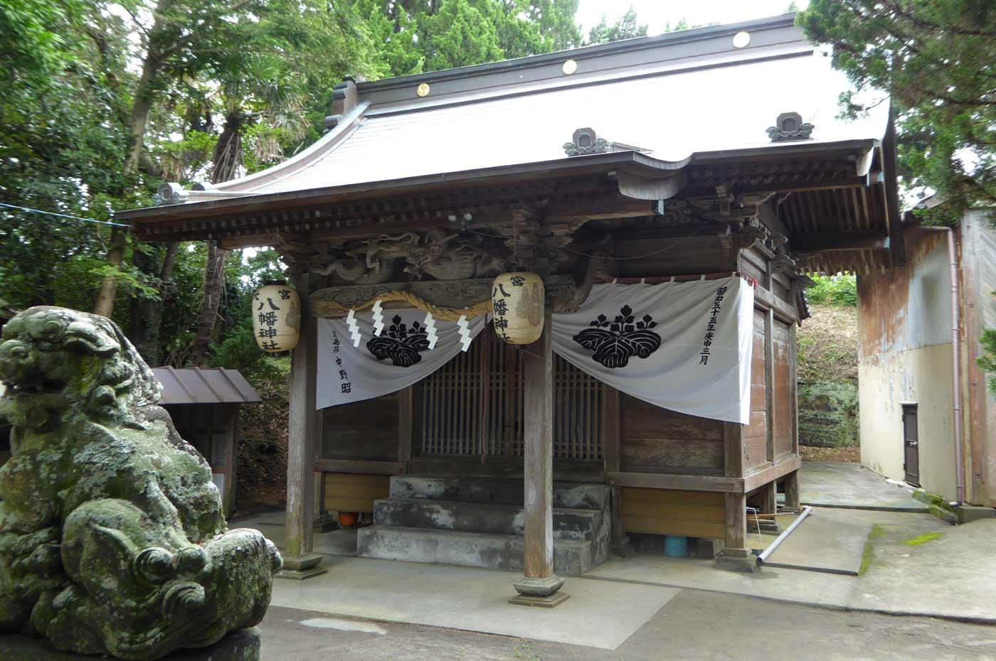 大宮八幡神社の本殿