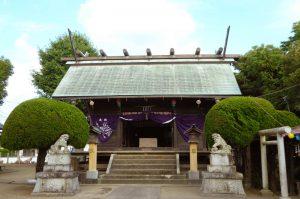熊野神社(館山市長須賀)の拝殿