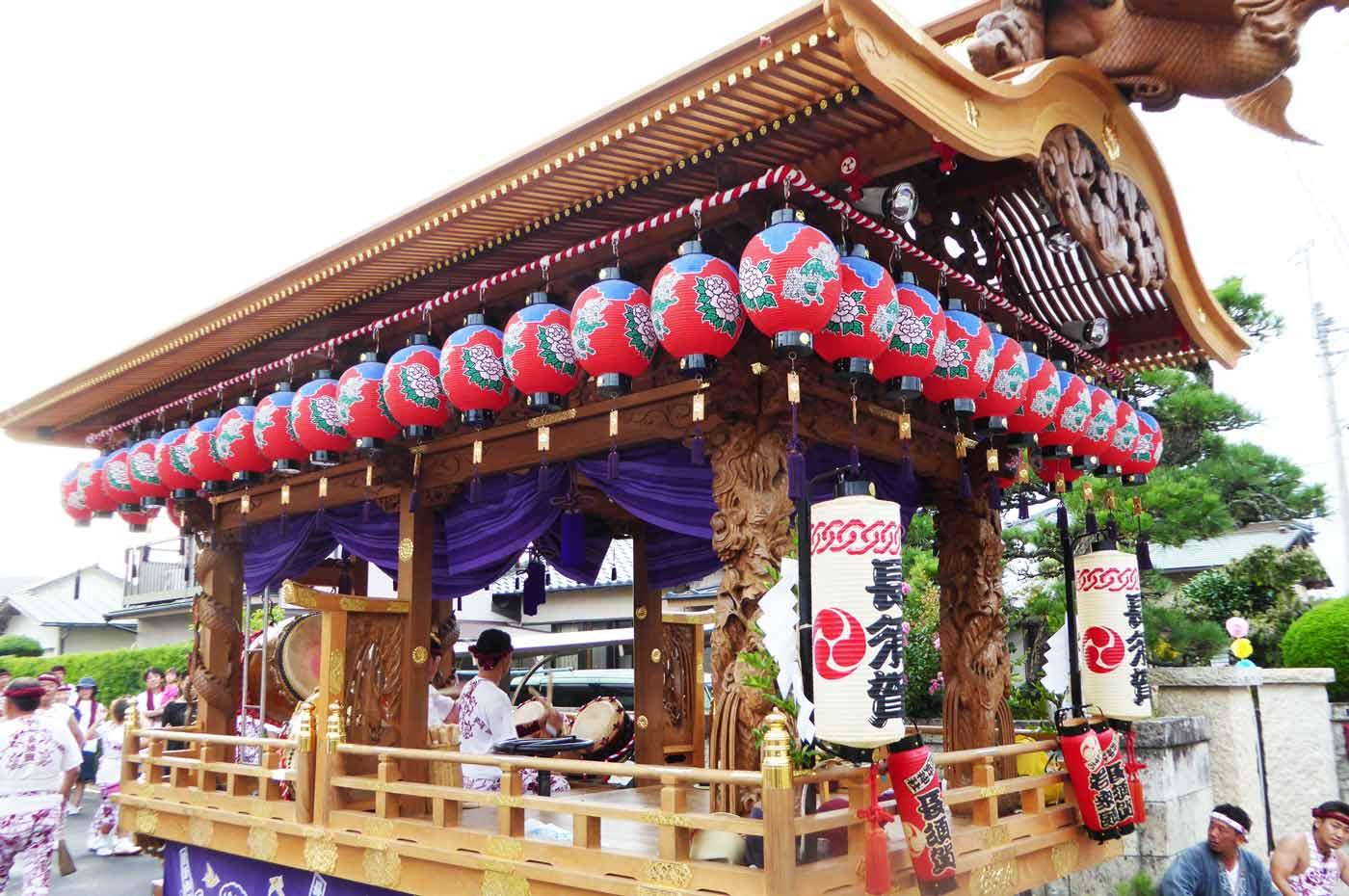 長須賀区の屋台