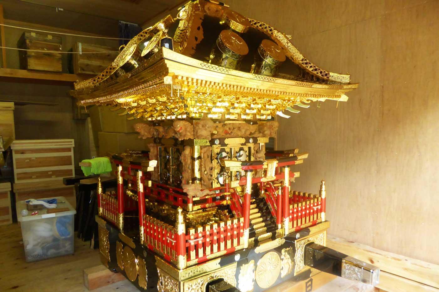 日吉神社の神輿