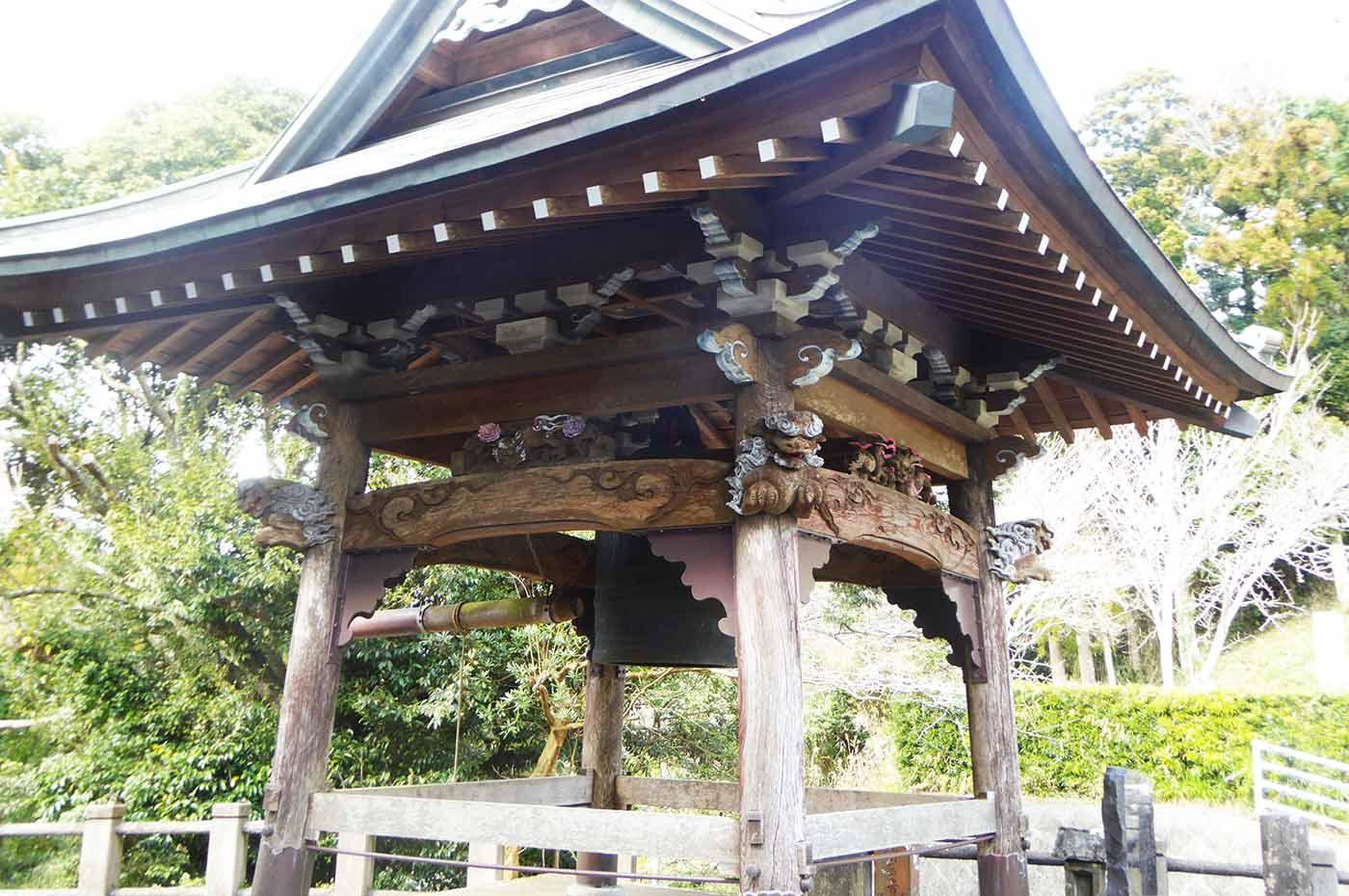 沼蓮寺の梵鐘の画像