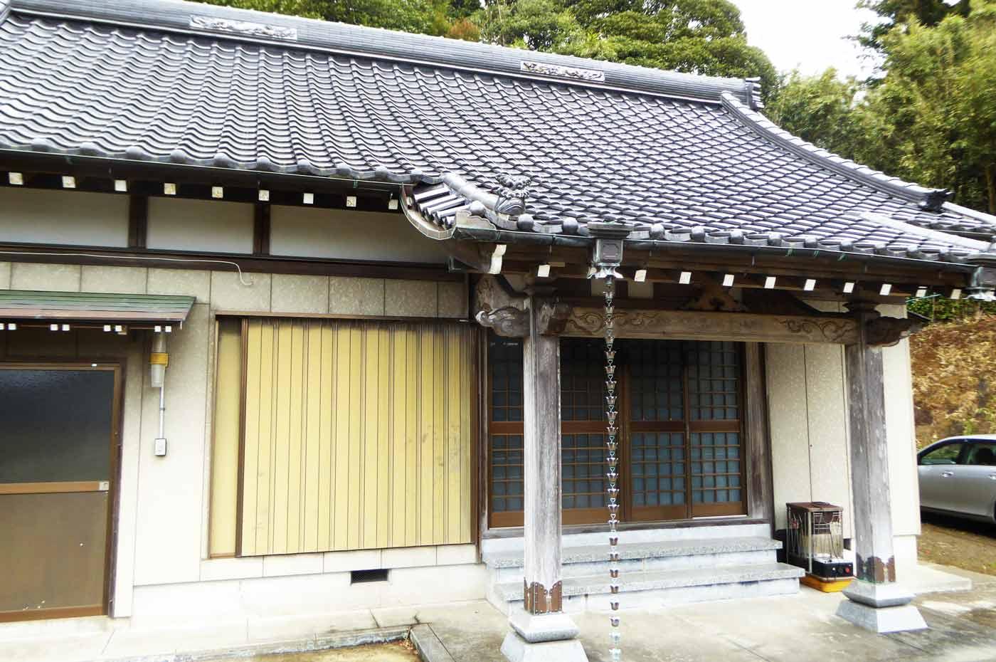 千龍寺の本堂の画像