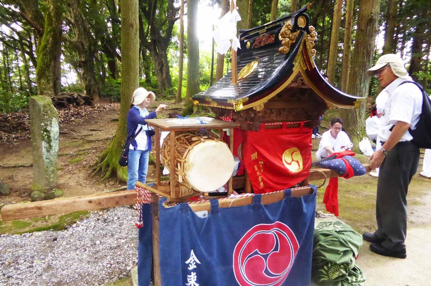 高蔵神社の神輿