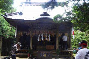 高蔵神社例祭の画像