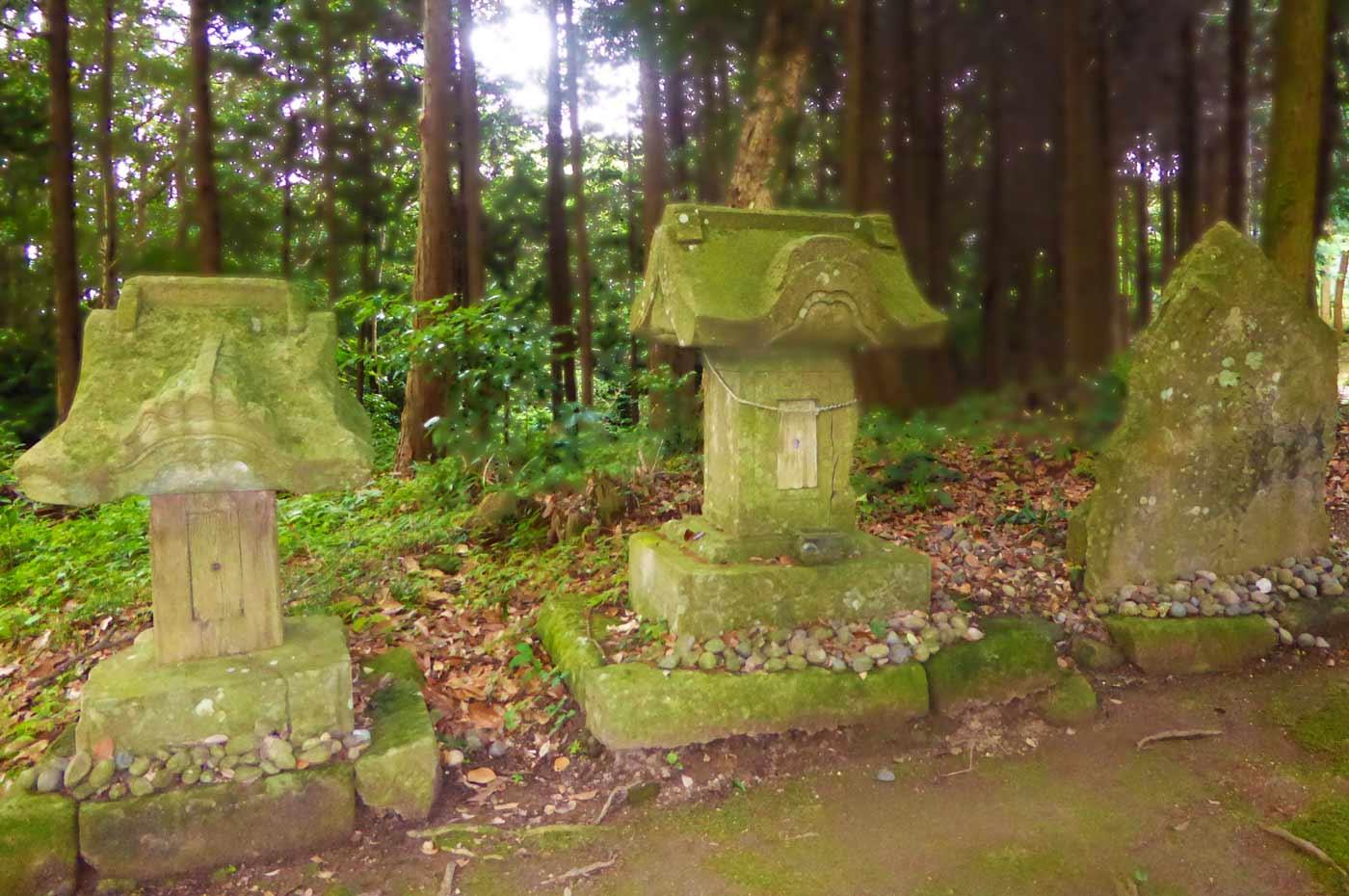 高蔵神社の石祠