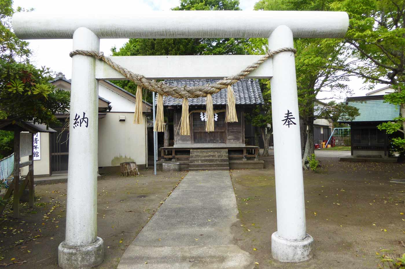 蛭子神社の拝殿