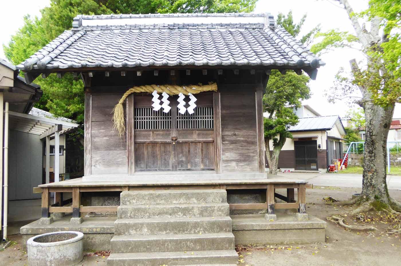 蛭子神社の拝殿2