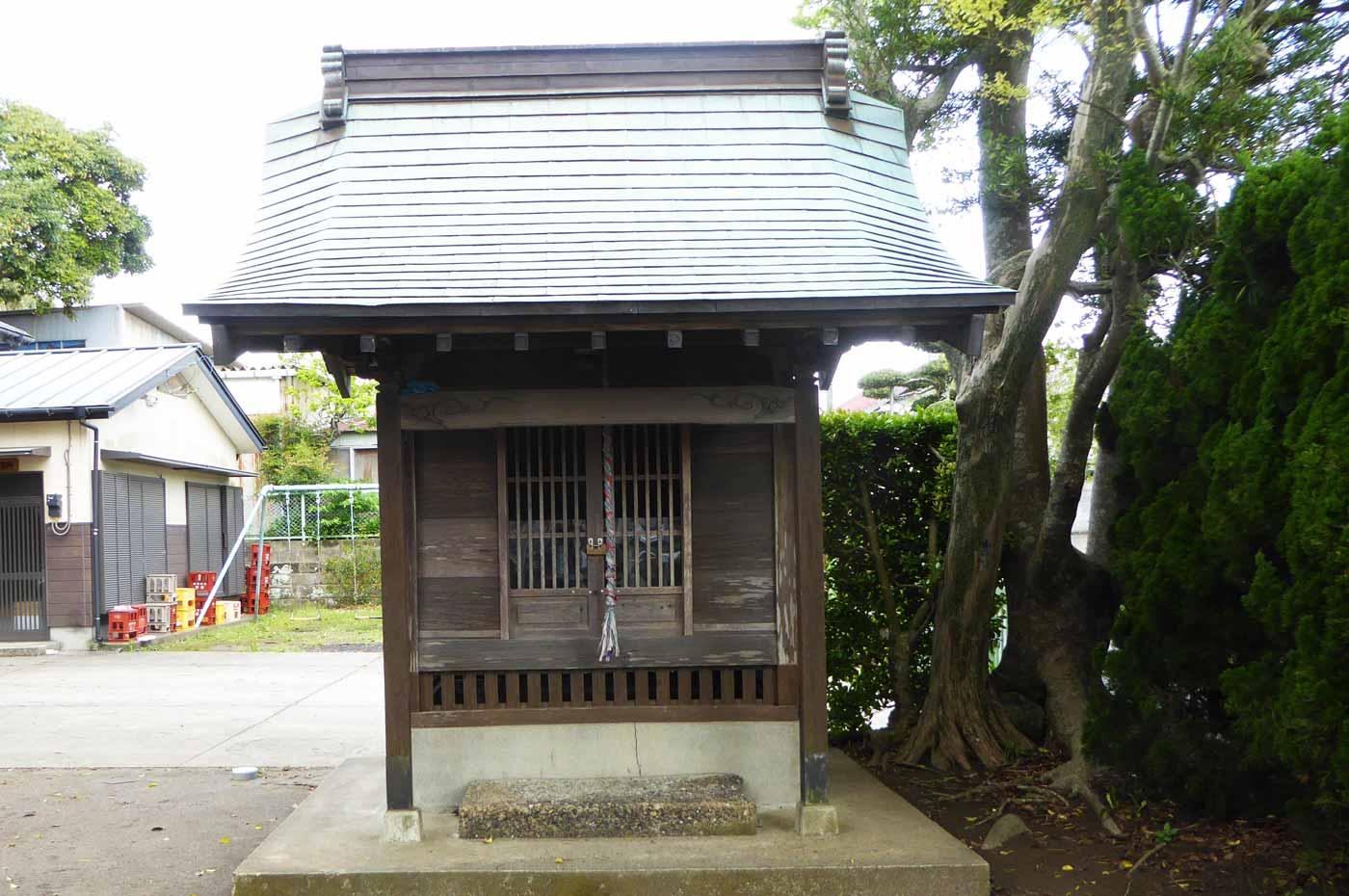 蛭子神社の稲荷大明神