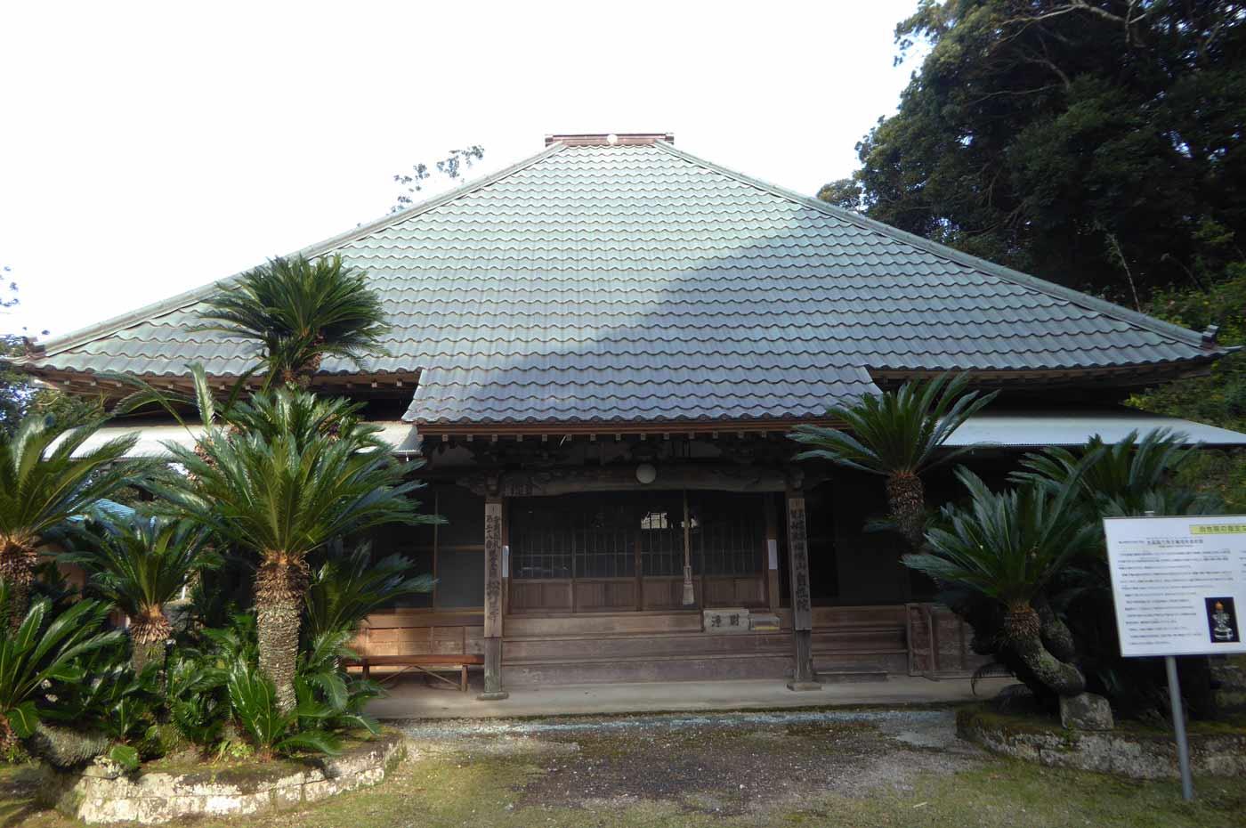 松野尾寺の本堂