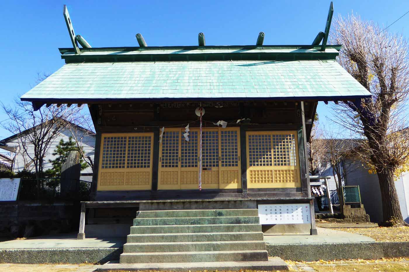 保田神社拝殿の画像