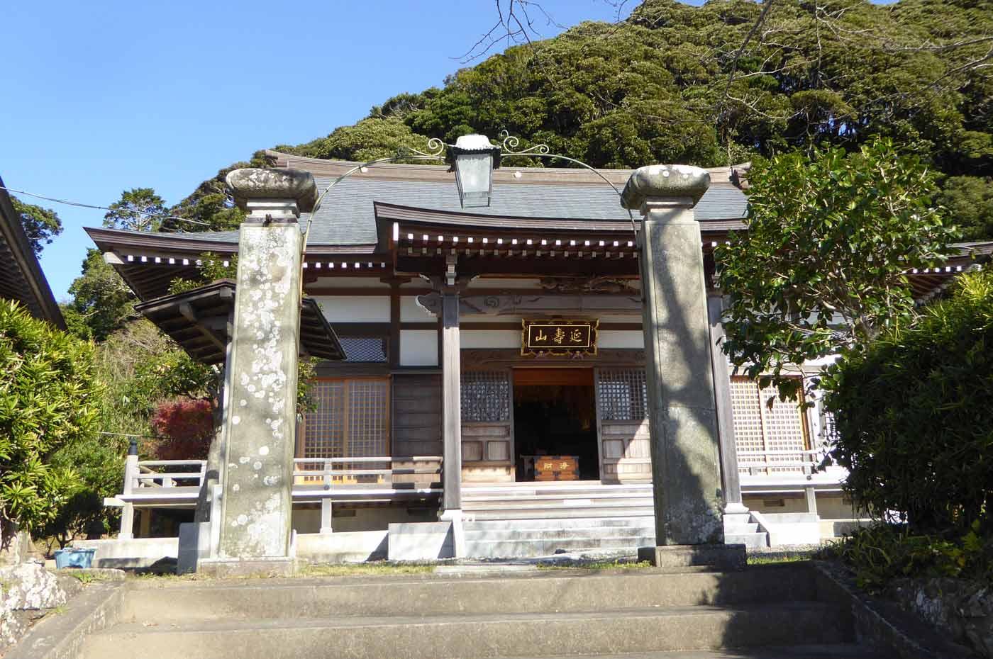観音寺の本堂の写真