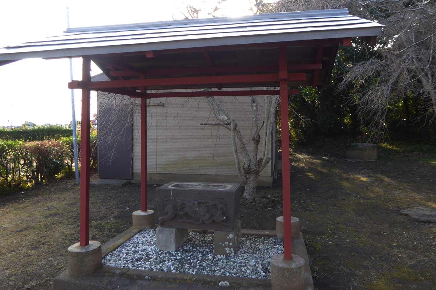 長尾神社の手水舎