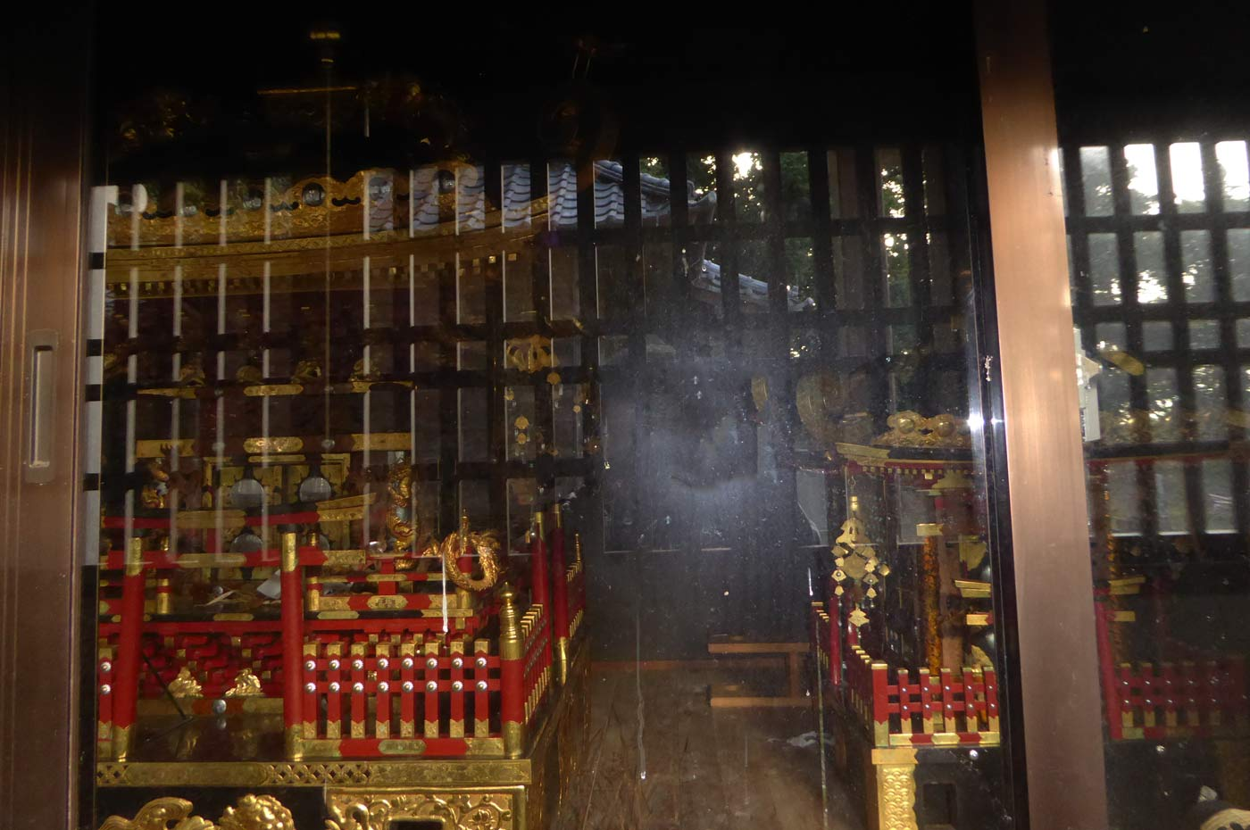 長尾神社の神輿