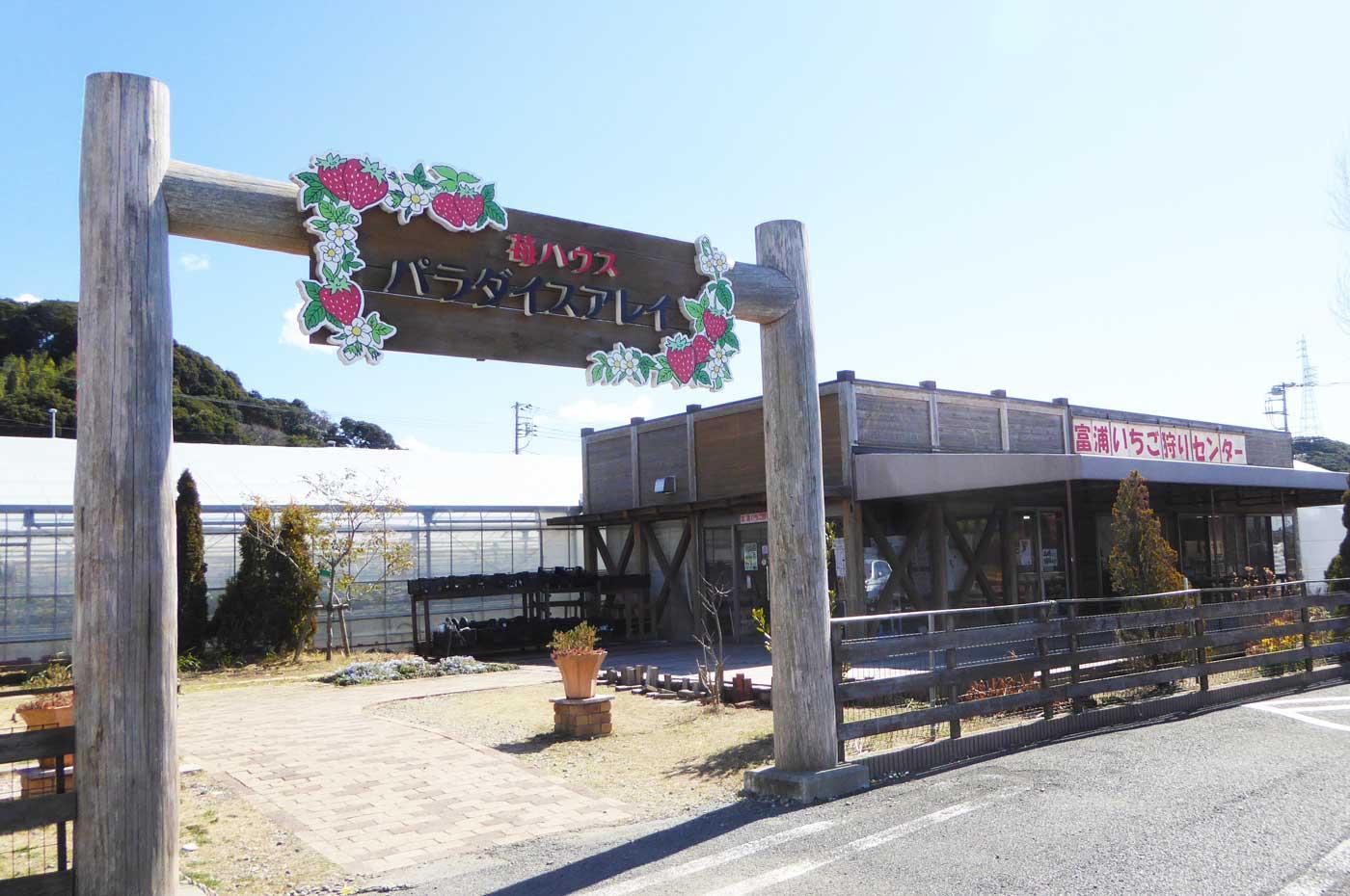 富浦いちご狩りセンター外観の画像