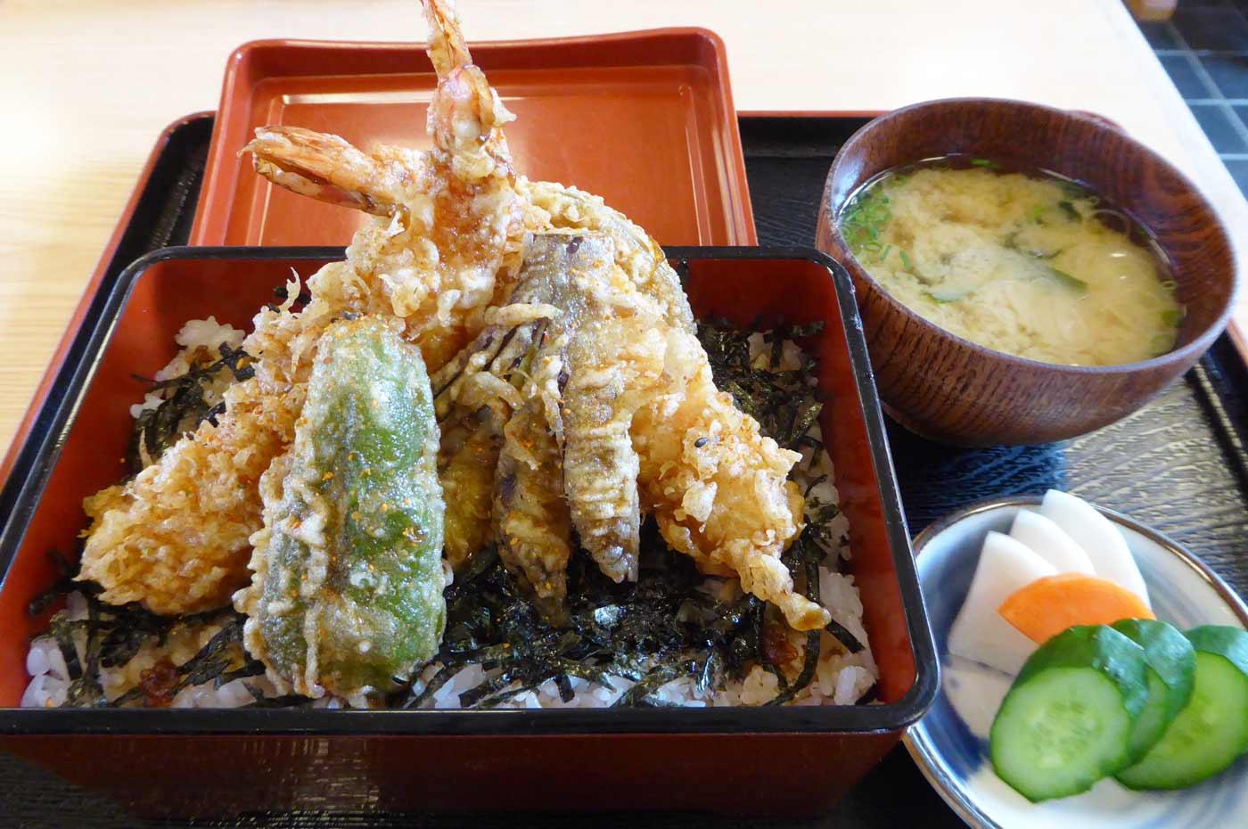 長寿庵の天丼