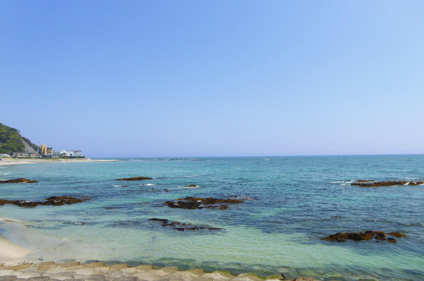城崎海水浴場の小磯の画像