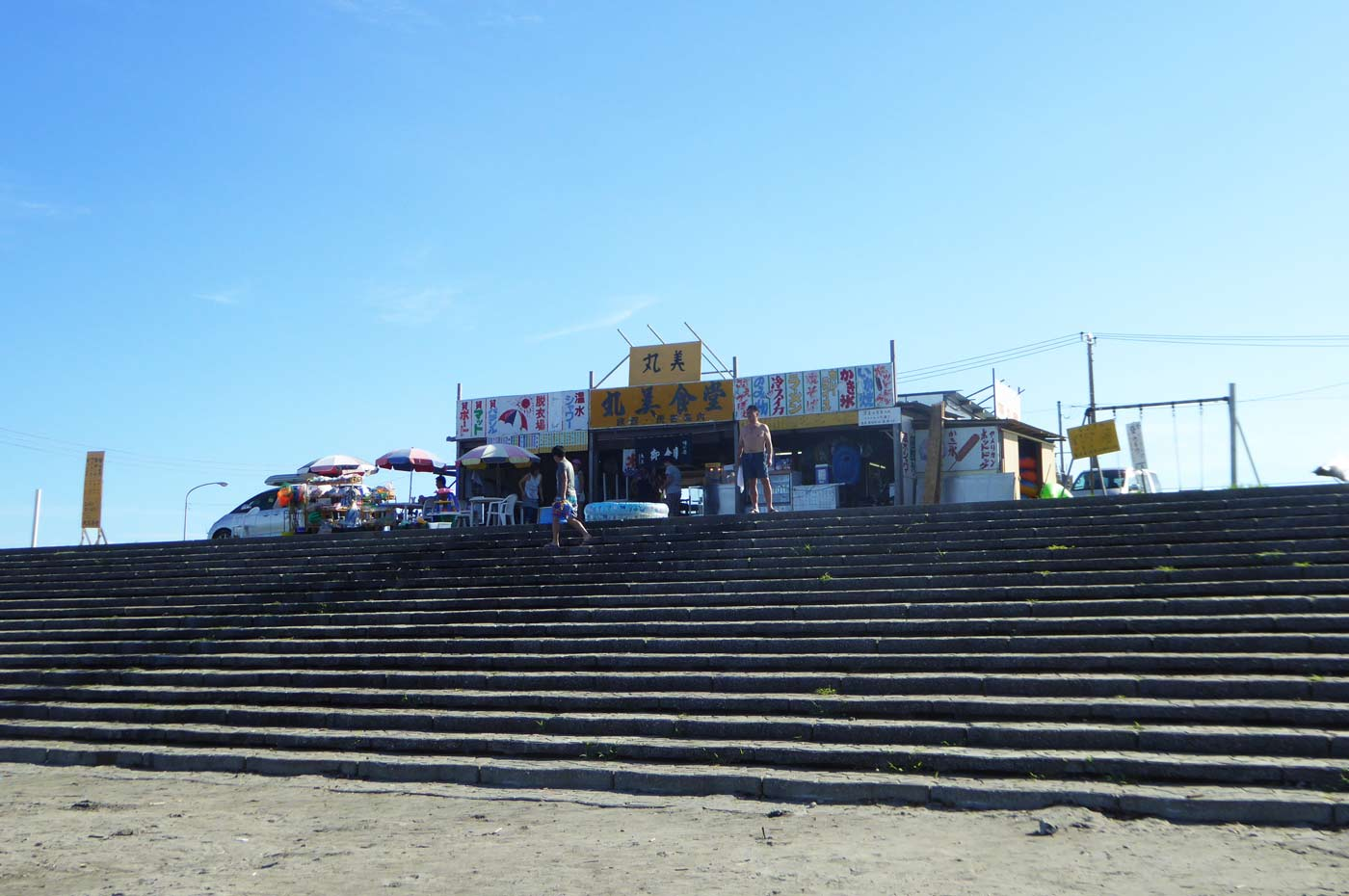 塩浦海水浴場の海の家