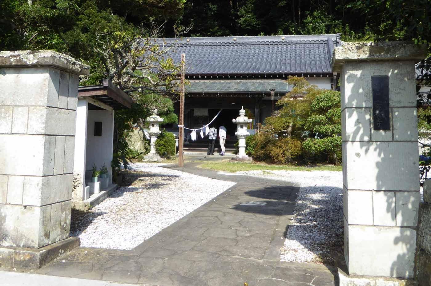 安養寺の本堂の画像