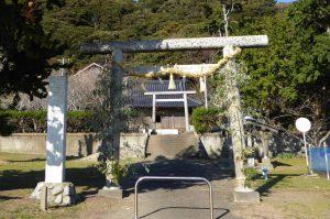 青根原神社の境内の画像