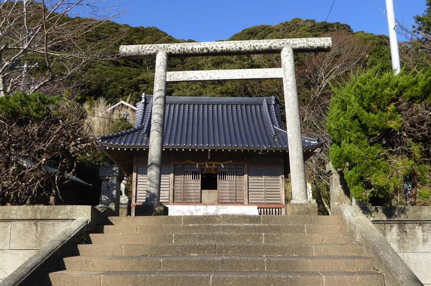 青根原神社の二の鳥居の画像