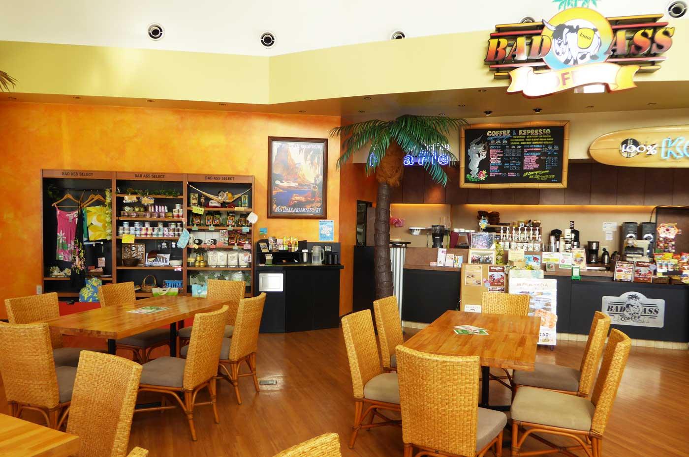 バッドアスコーヒー店内の画像