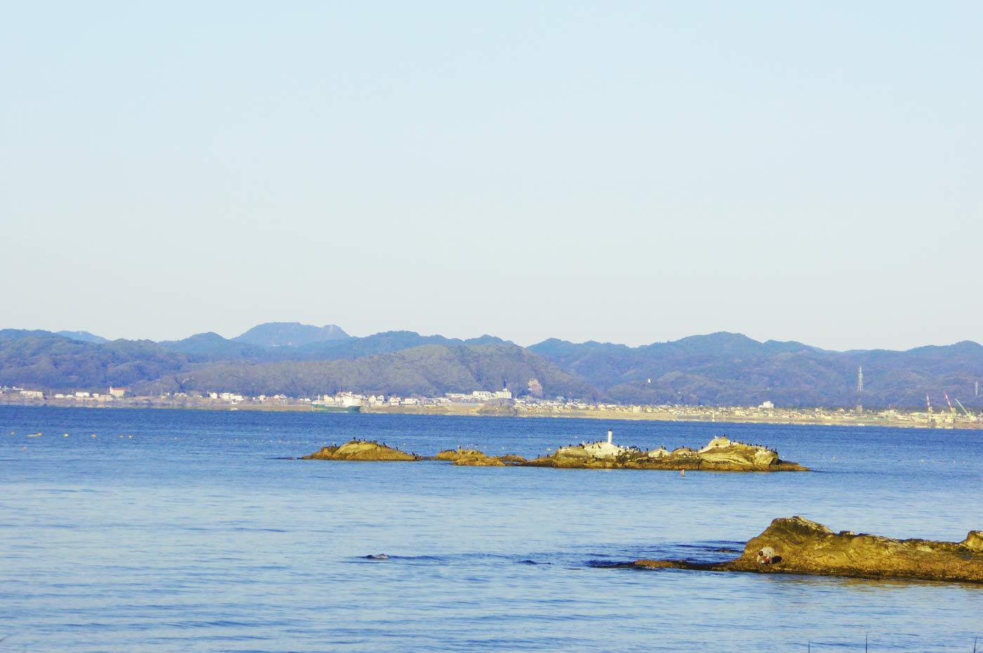 坂田海水浴場の小磯