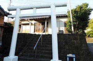 弁天神社の拝殿