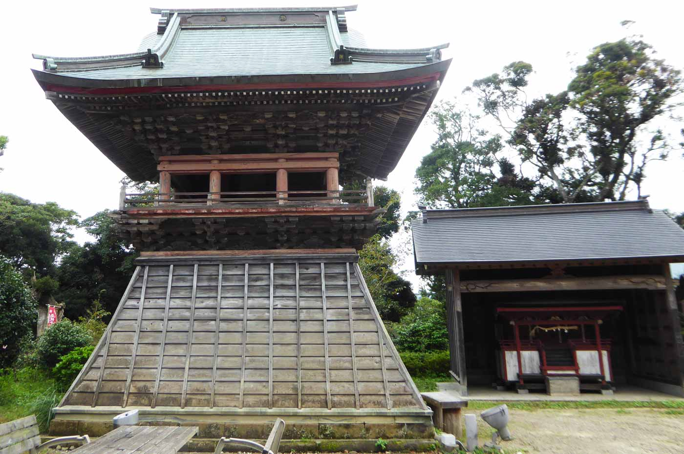 石堂寺鐘楼堂(南房総市指定文化財)の画像