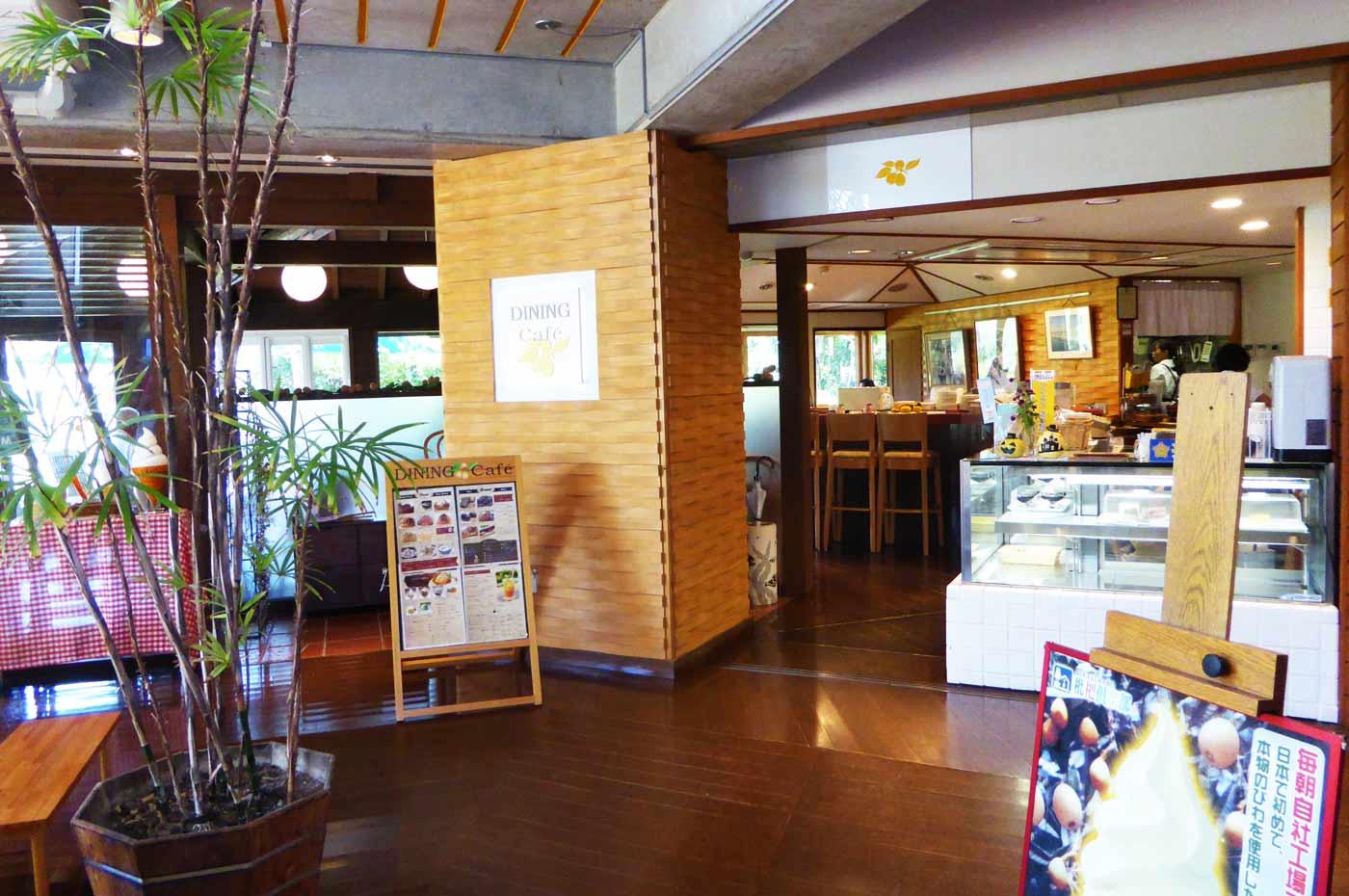 枇杷倶楽部のオープンカフェの画像