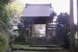 智蔵寺の山門