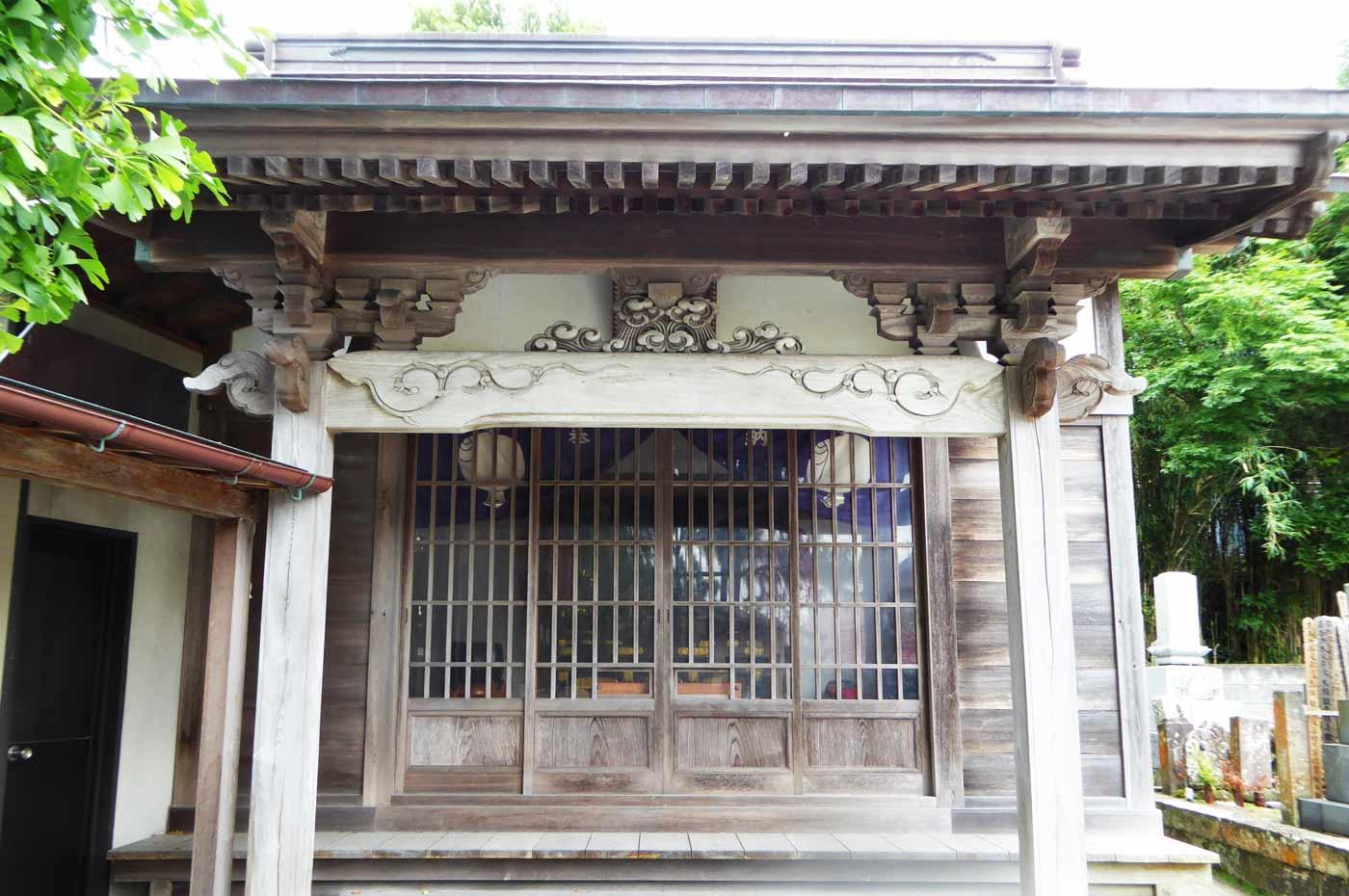 長泉寺の観音堂