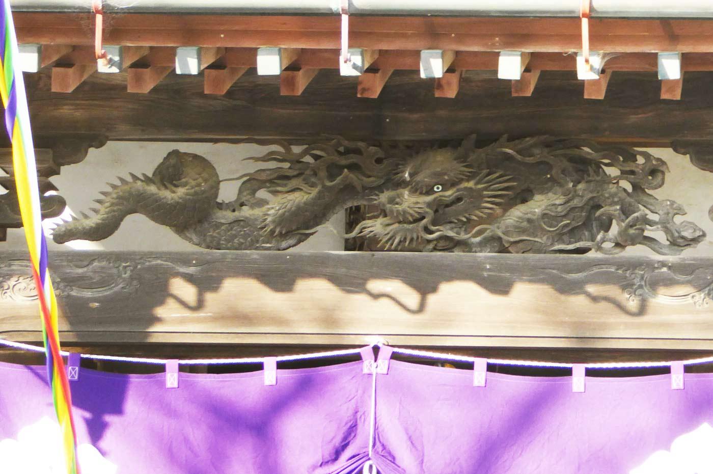 長勝寺本の後藤義光の彫刻