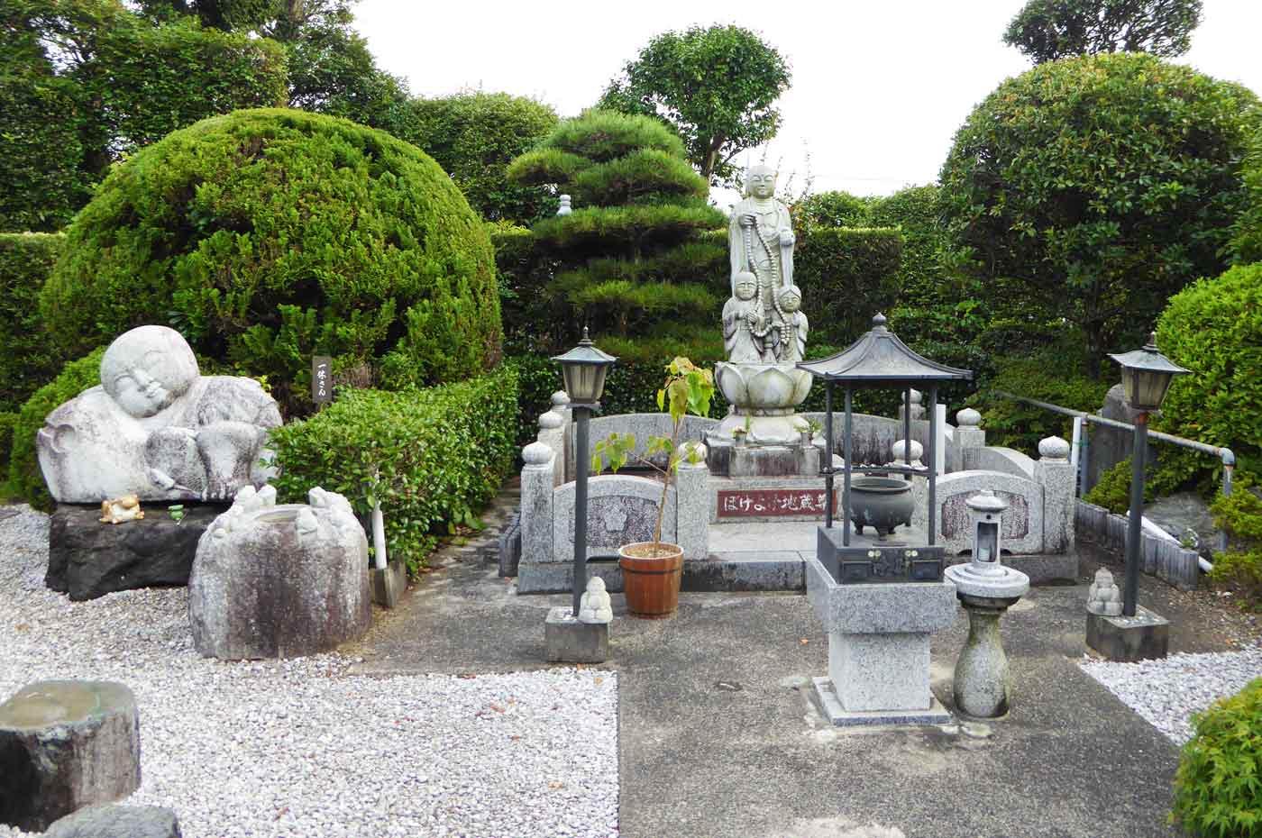 長福寺のぼけよけ地蔵尊