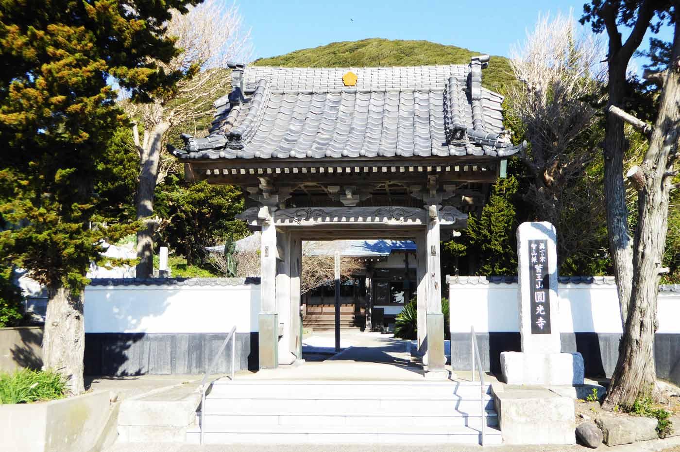 円光寺の山門の画像