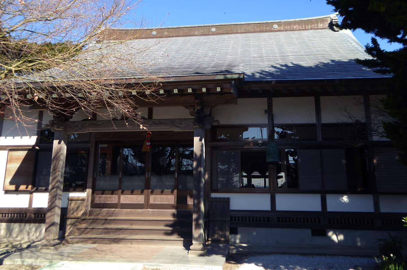 圓光寺本堂のアップ
