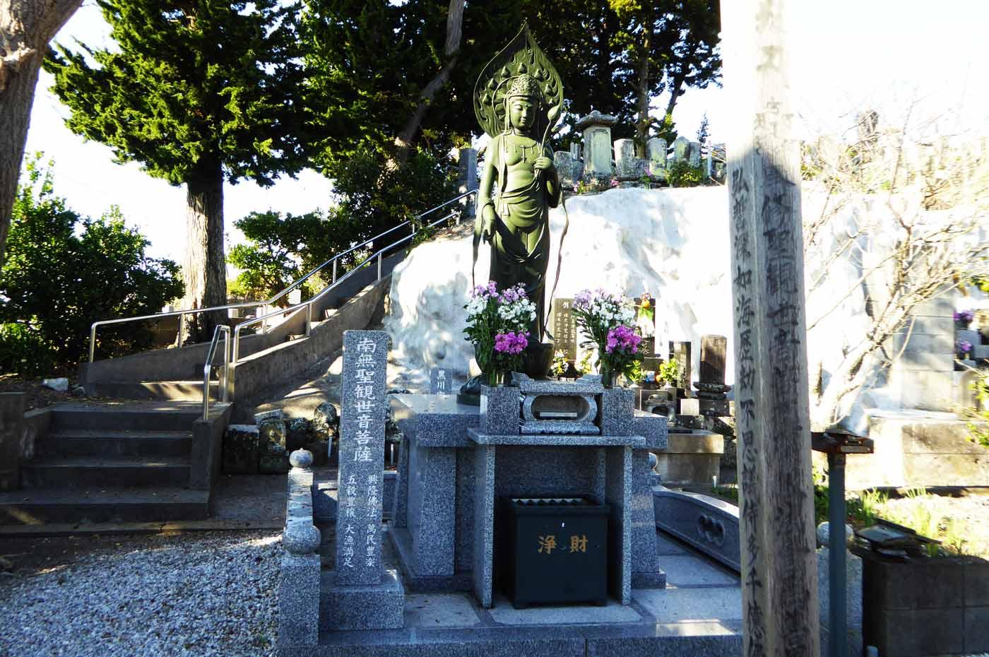 圓光寺の南無聖観世菩薩の画像
