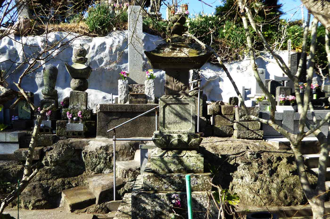 圓光寺の宝篋印塔