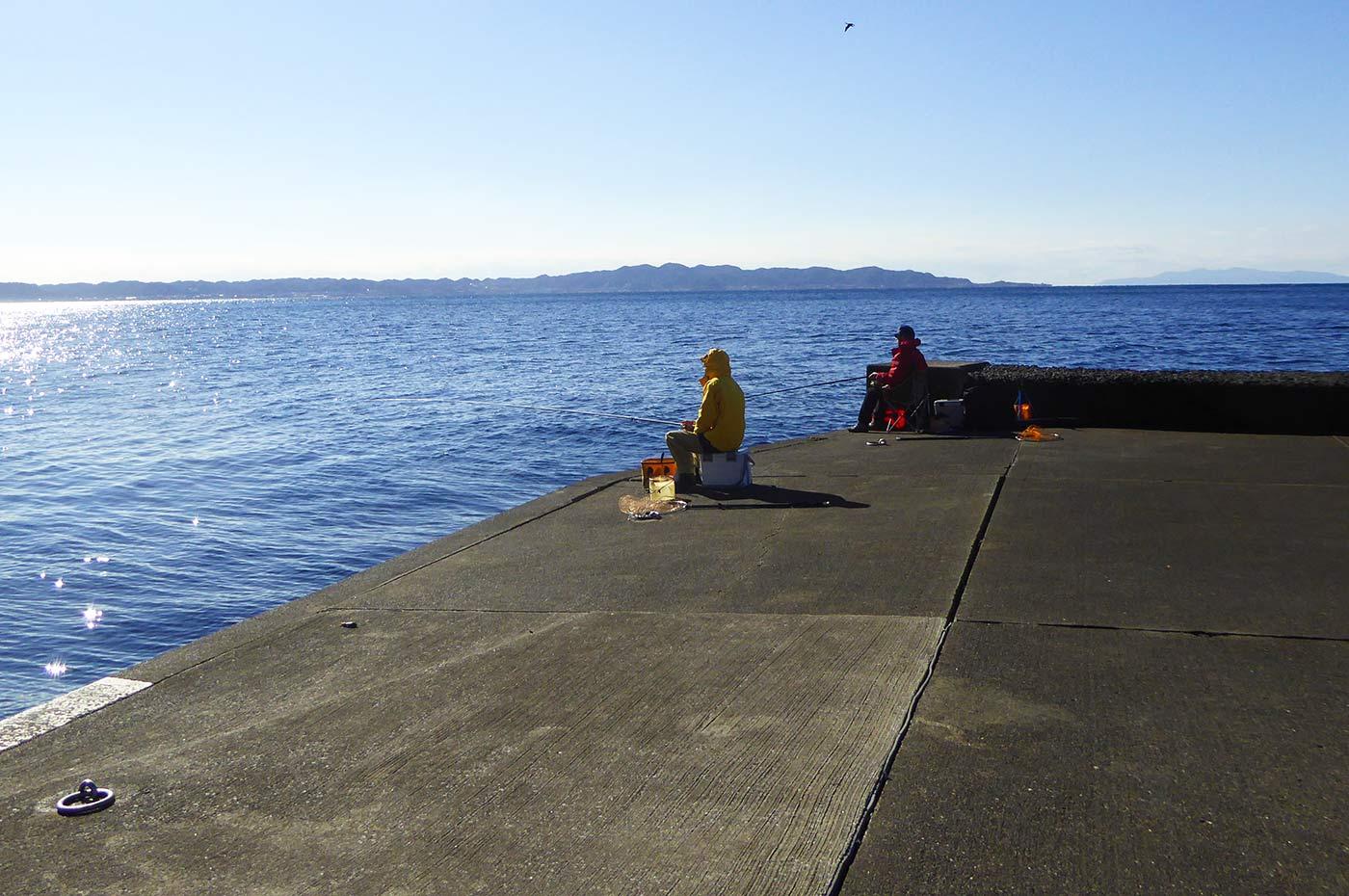 南ケイセンの釣り場