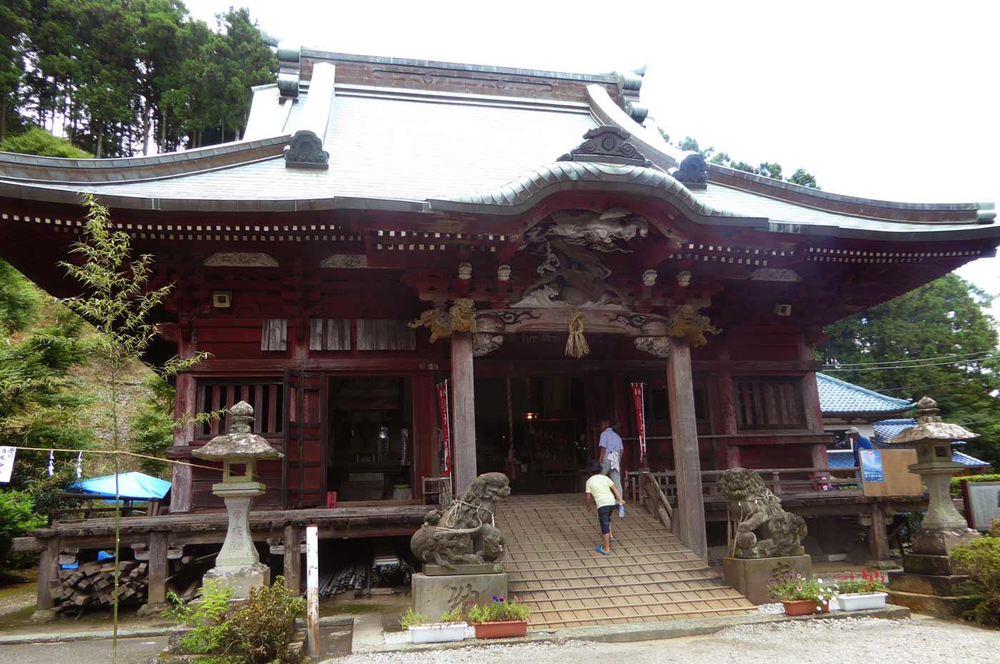 大山寺の不動堂