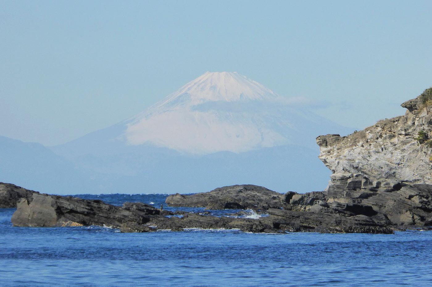 南ケイセンから富士山を望む