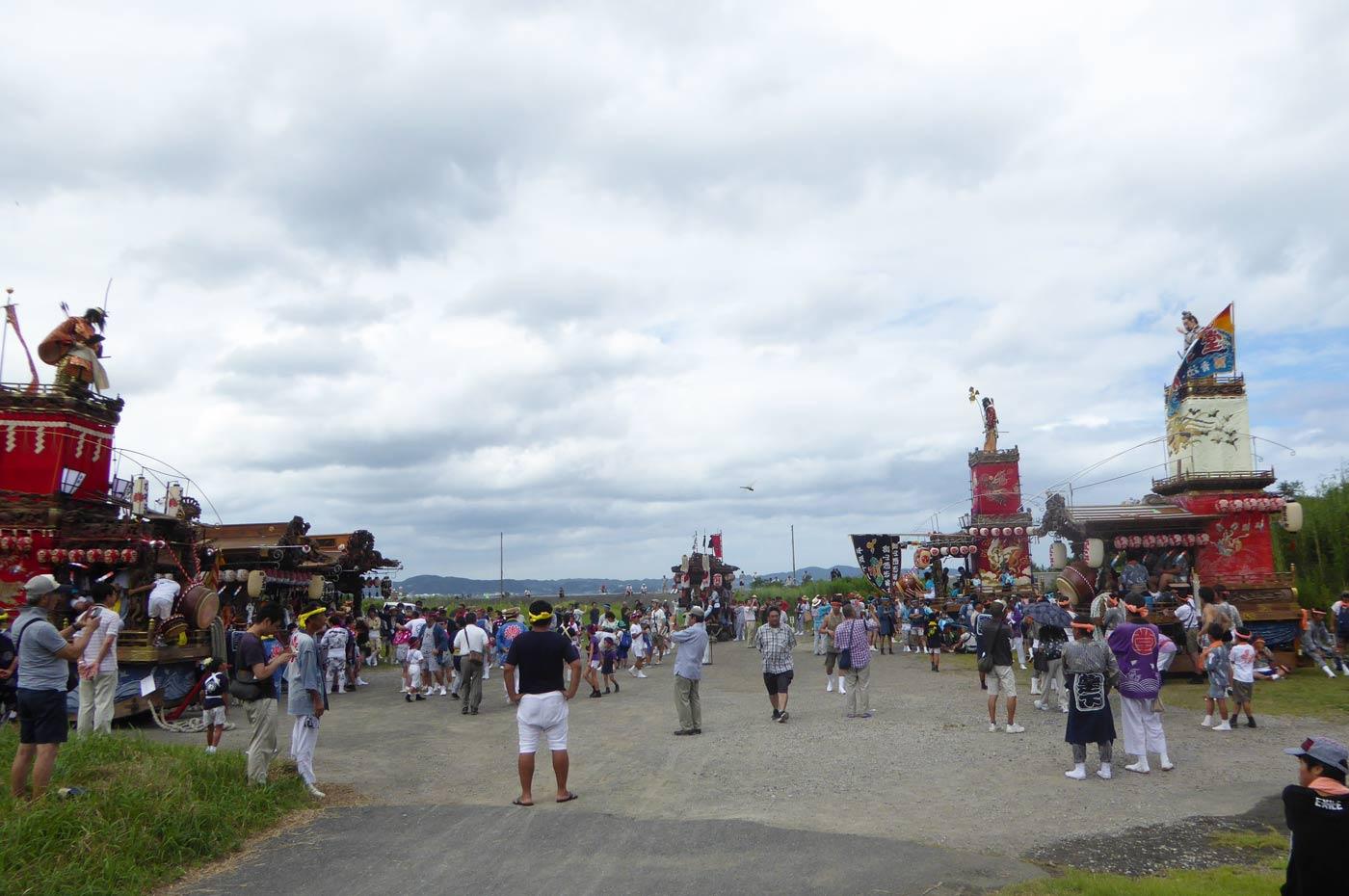 船形地区祭礼