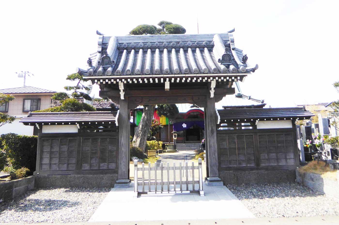 極楽寺山門の画像