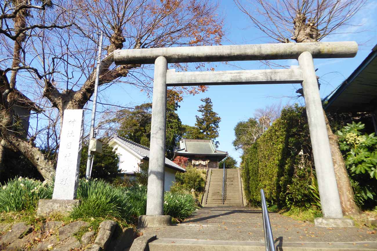 日枝神社参道の画像