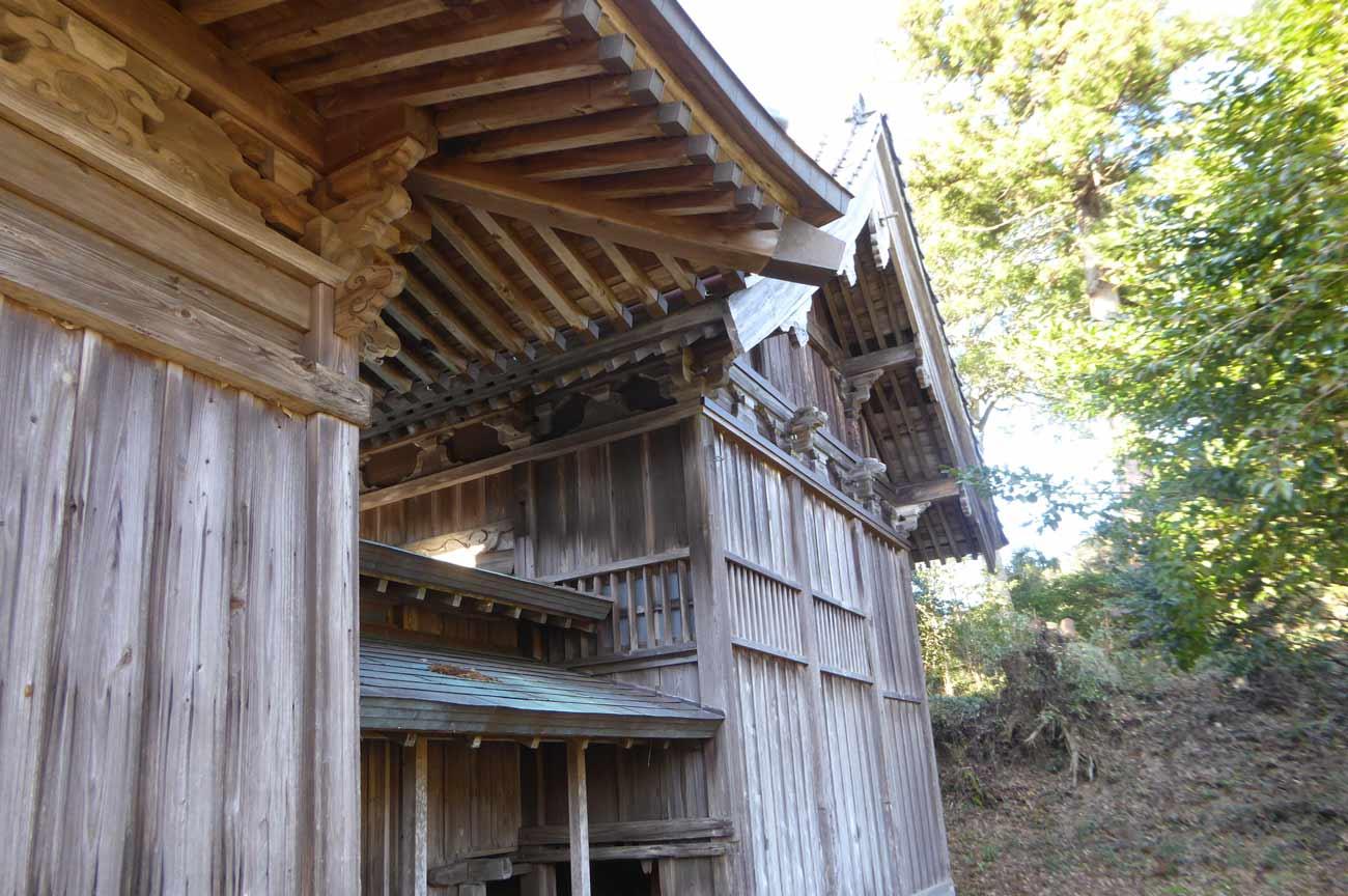 日枝神社本殿の画像