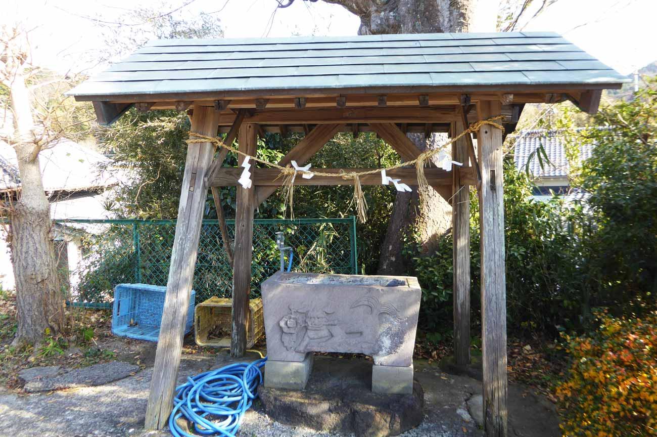 日枝神社手水舎の画像